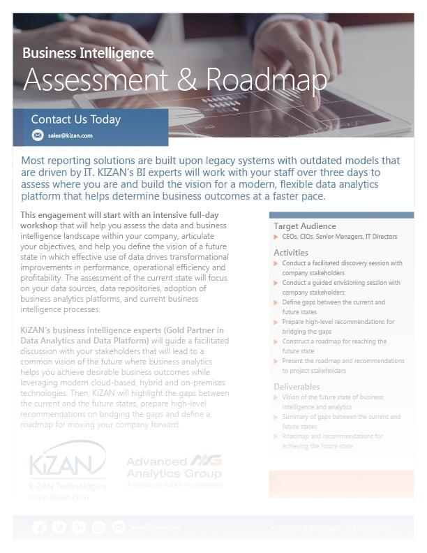 Power BI Assessment & Roadmap