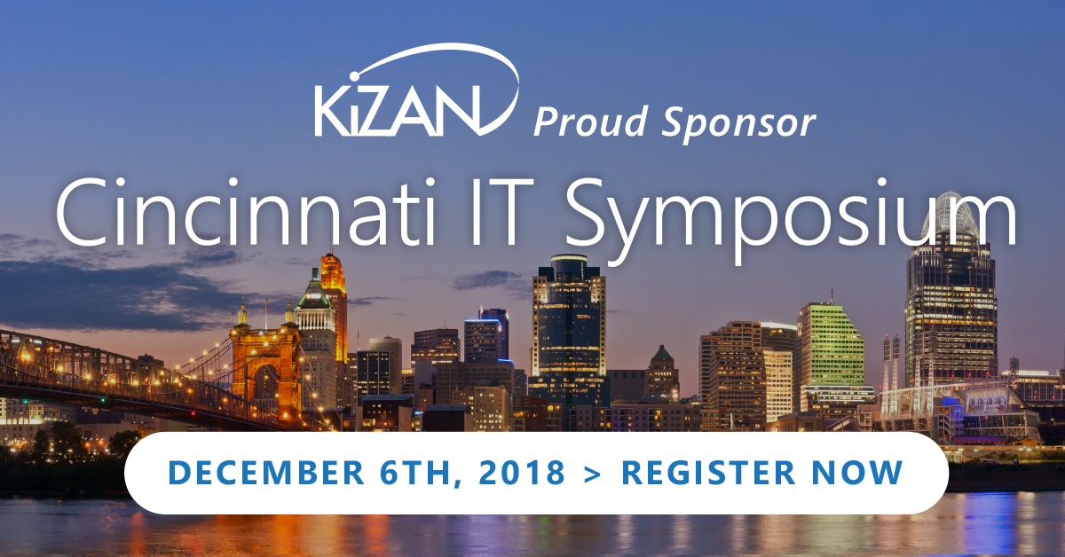 KiZAN Sponsors the Cincinnati IT Symposium