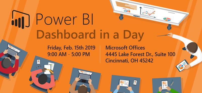 Power BI Dashboard in a Day-Cincinnati