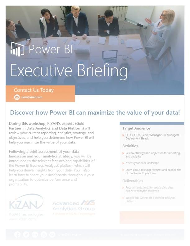 Power BI Executive Briefing