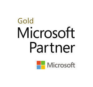 Gold Stacked Logo