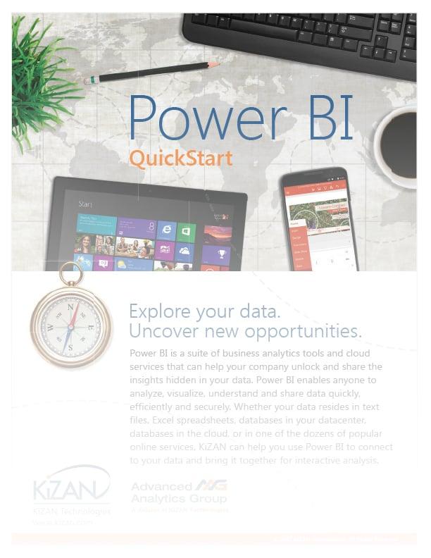 Power BI Quickstart