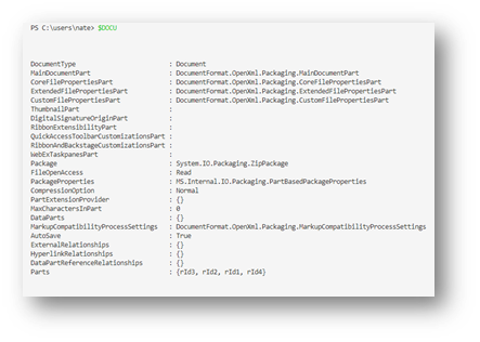 Reading Docs with PowerShell2