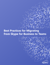Best Practices for Migrating from Skype for Business to Teams ebook