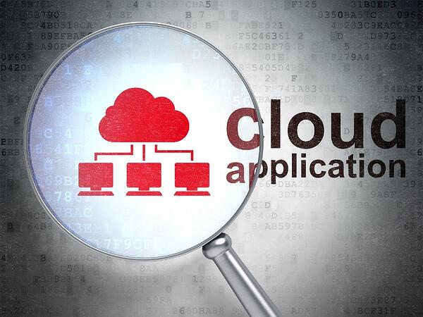 What is a cloud application