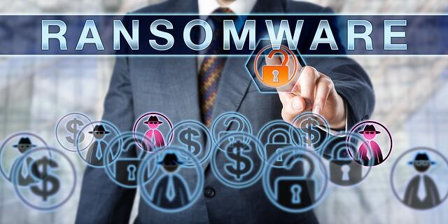 Ransomware gains access to your data and also removes your access.