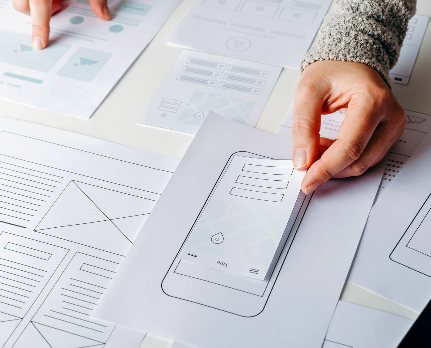 Wireframe & Concept Layout