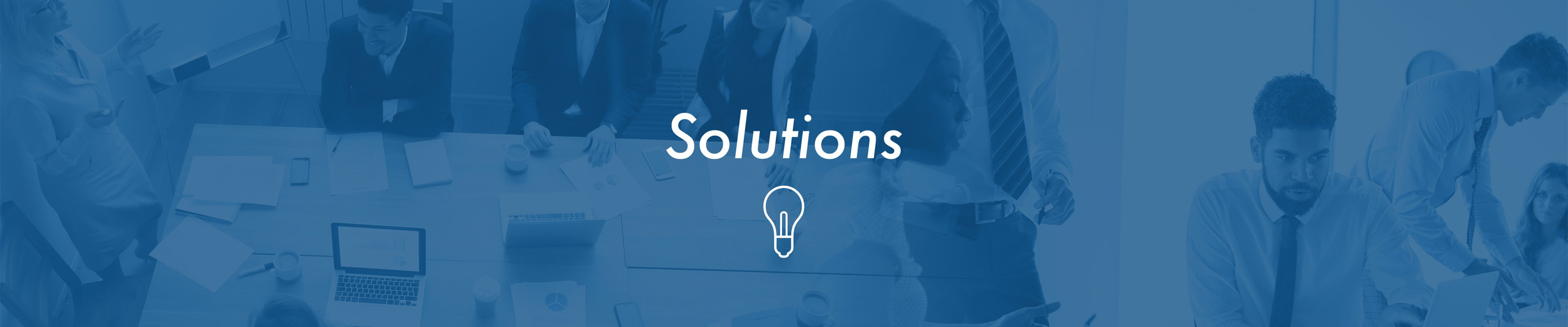 Advanced Analytics Group Solutions Banner