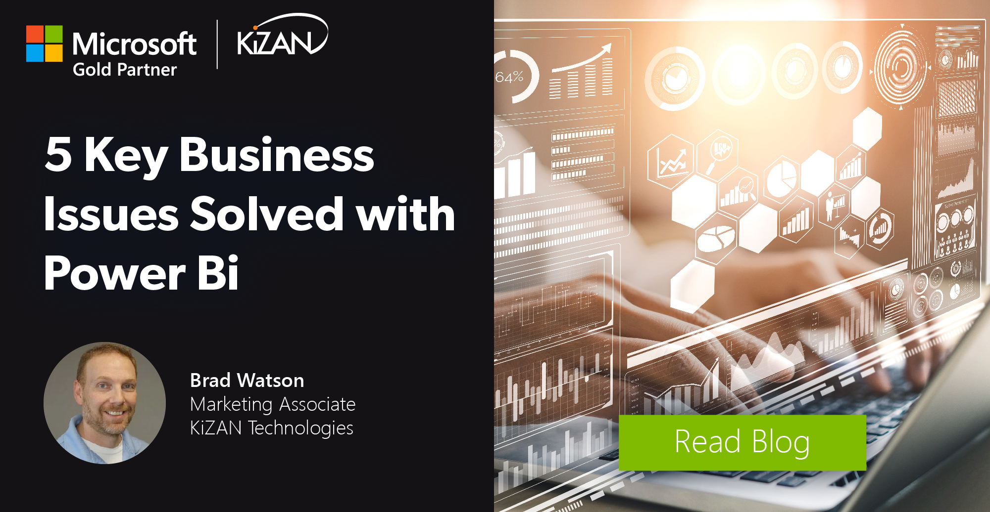 KiZAN | 5 Key Business Issues Solved With Power BI