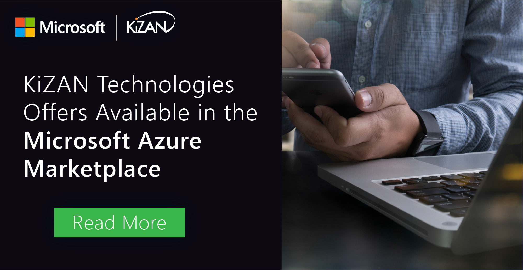 KiZAN Technologies Offers Available in the Microsoft Azure Marketplace