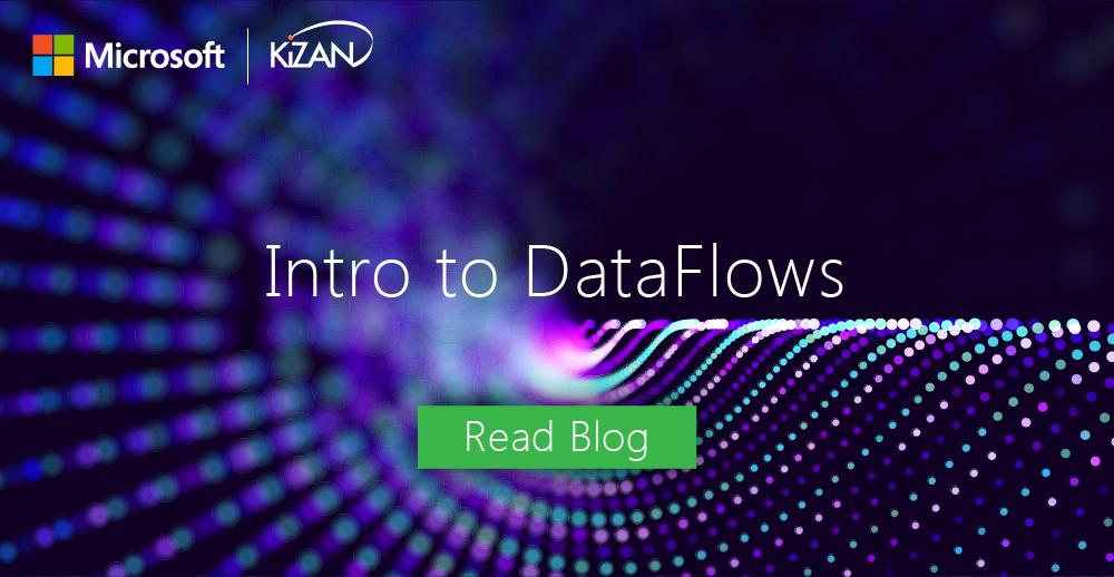 Intro to DataFlows