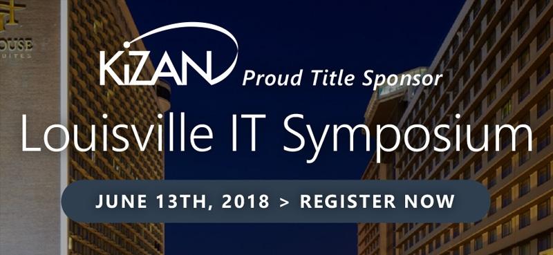 KiZAN is title sponsor of the Louisville IT Symposium