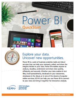 Power BI QuickStart Offer