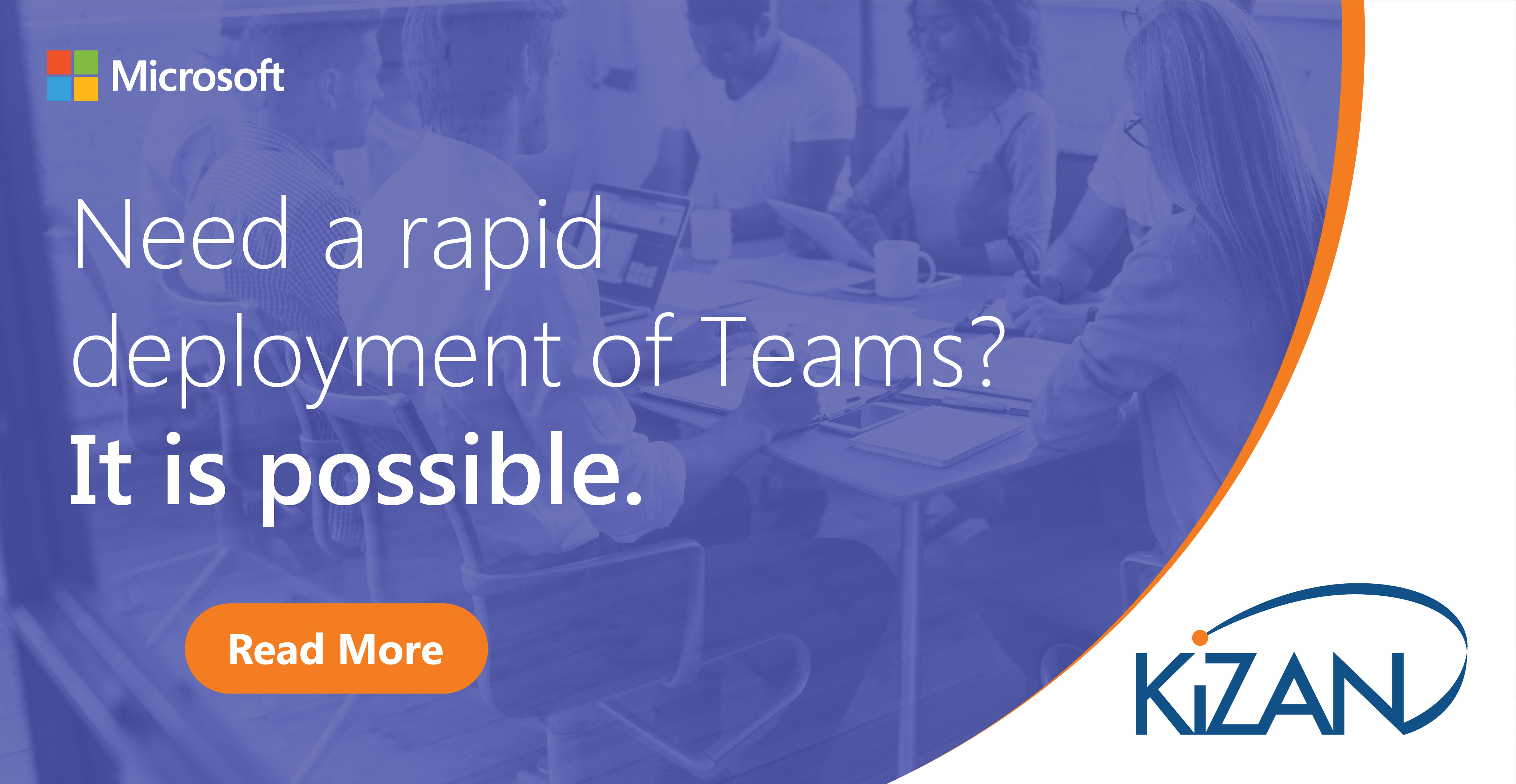 Need a rapid deployment of Teams? It is possible.