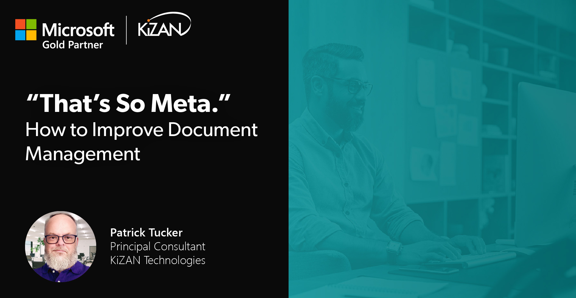 """""""That's So Meta."""" How to Improve Document Management"""