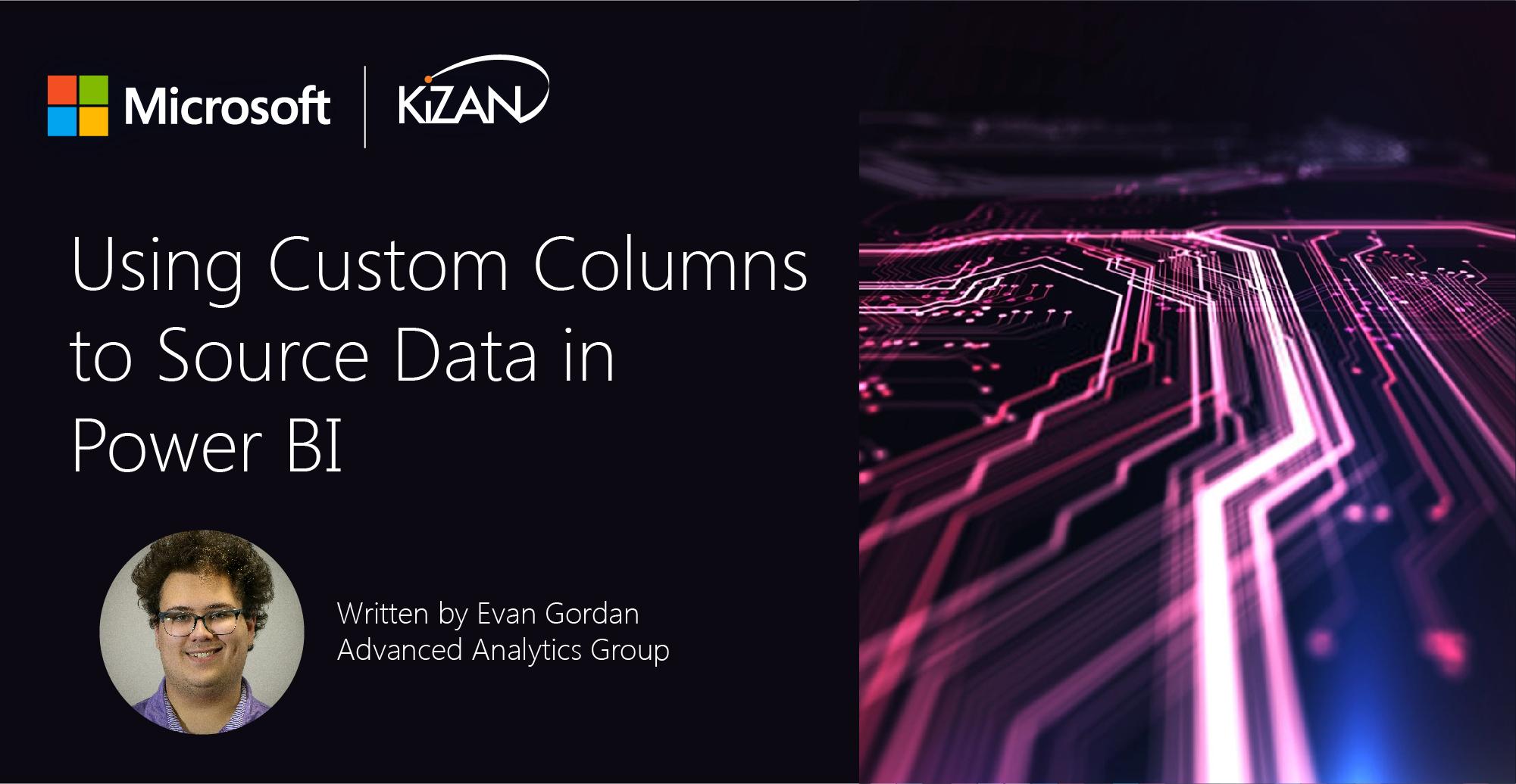 Using Custom Columns to Source Data in Power BI
