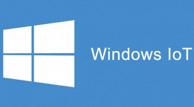 Windows 10 IoT Core Internet of things