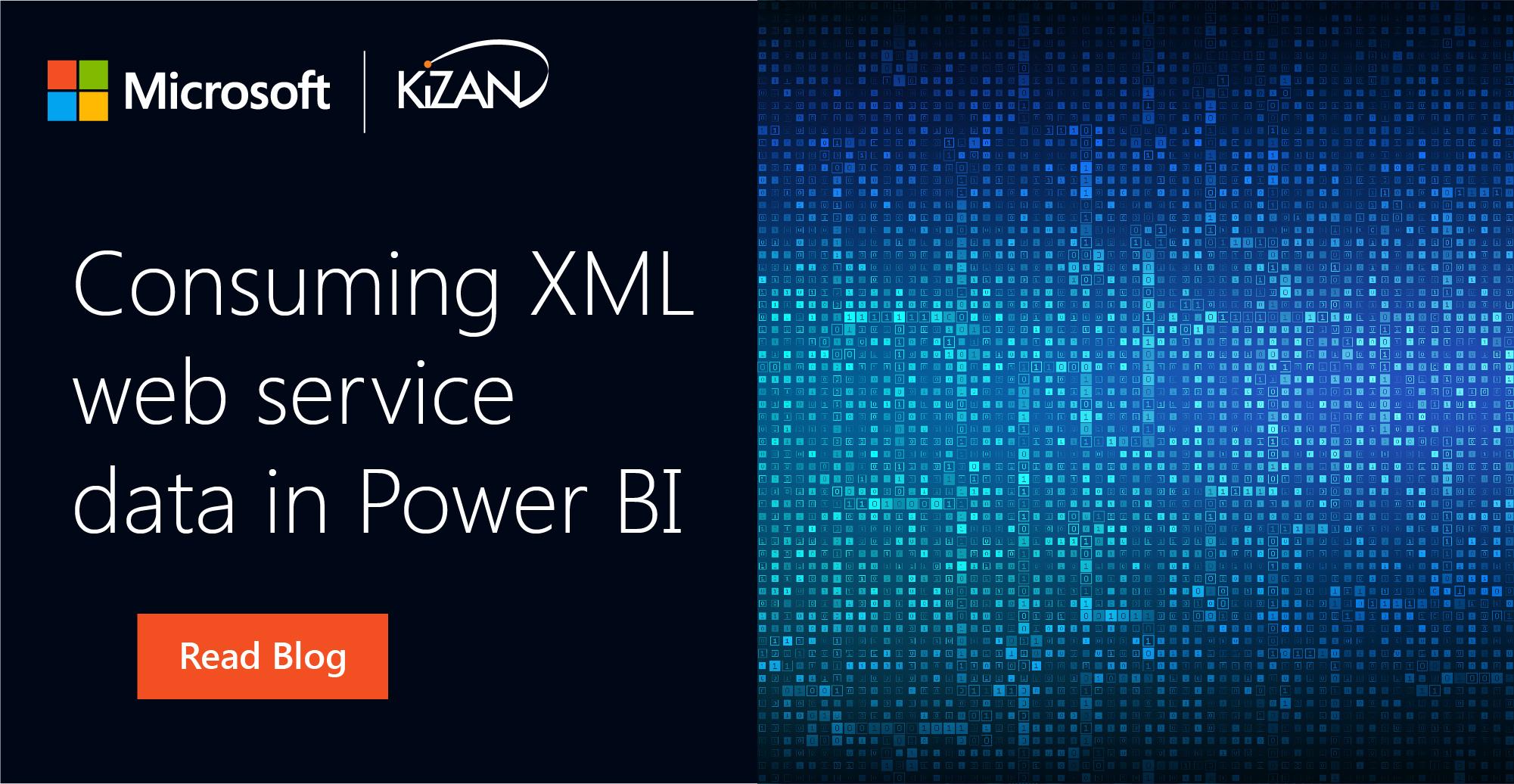 Consuming XML web service data in Power BI