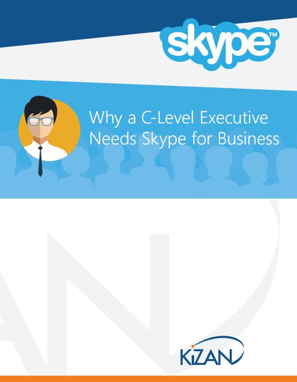 Skype for Buisness C-Level e-Book