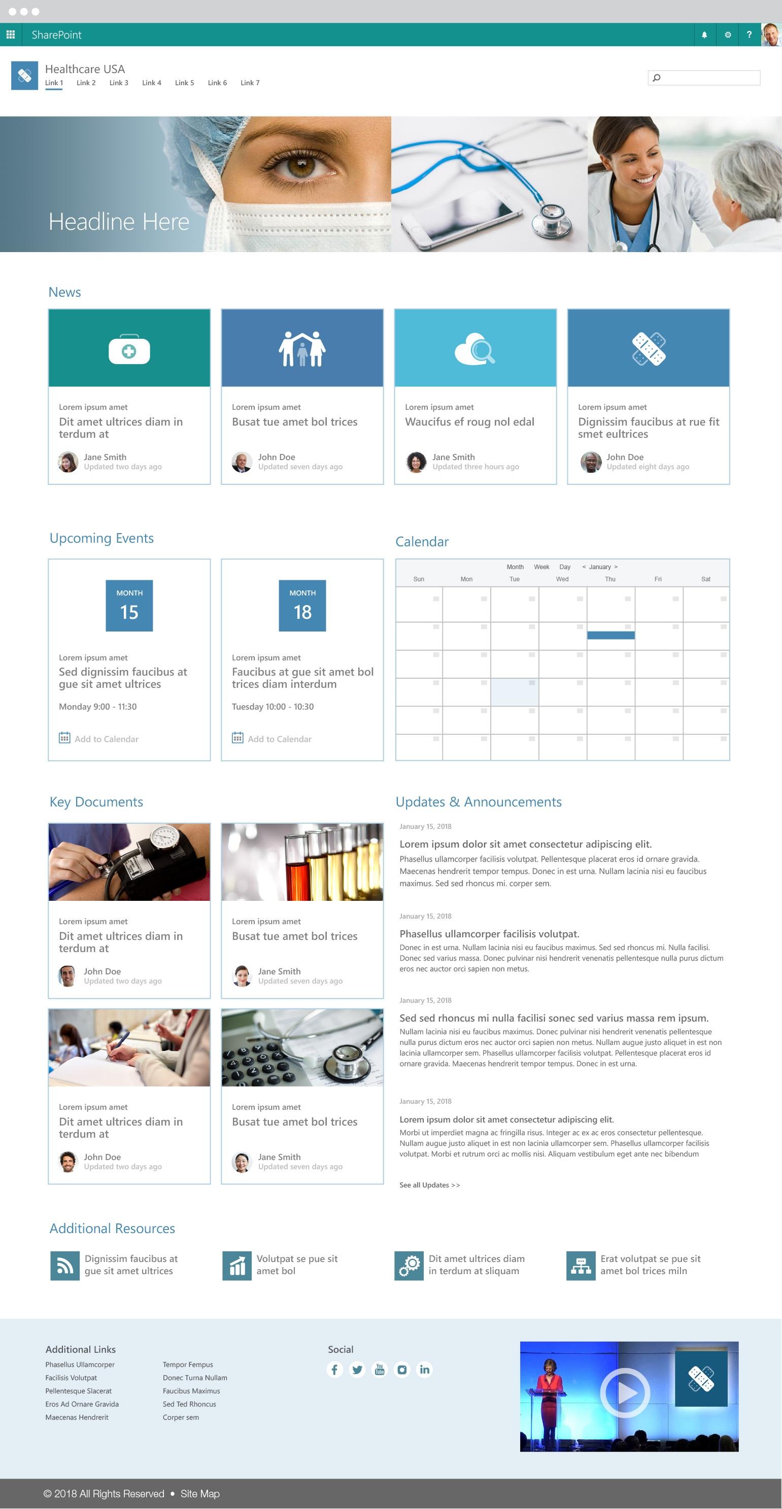 Modern SharePoint Communication Sites